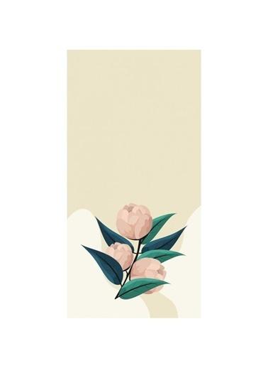Artikel Pudra Lale Desenli Dekoratif Çift Taraflı Yastık Kırlent Kılıfı 45x45 cm Renkli